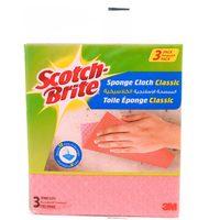 Scotch Brite Sponge Cloth Classic 3 Sponge Cloth