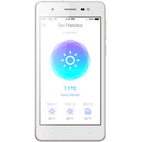 Lava Smartphone IRIS 50 Dual Sim Gold