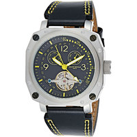 Mount Royale Analog-Digital Leather Watch for Men-7R45