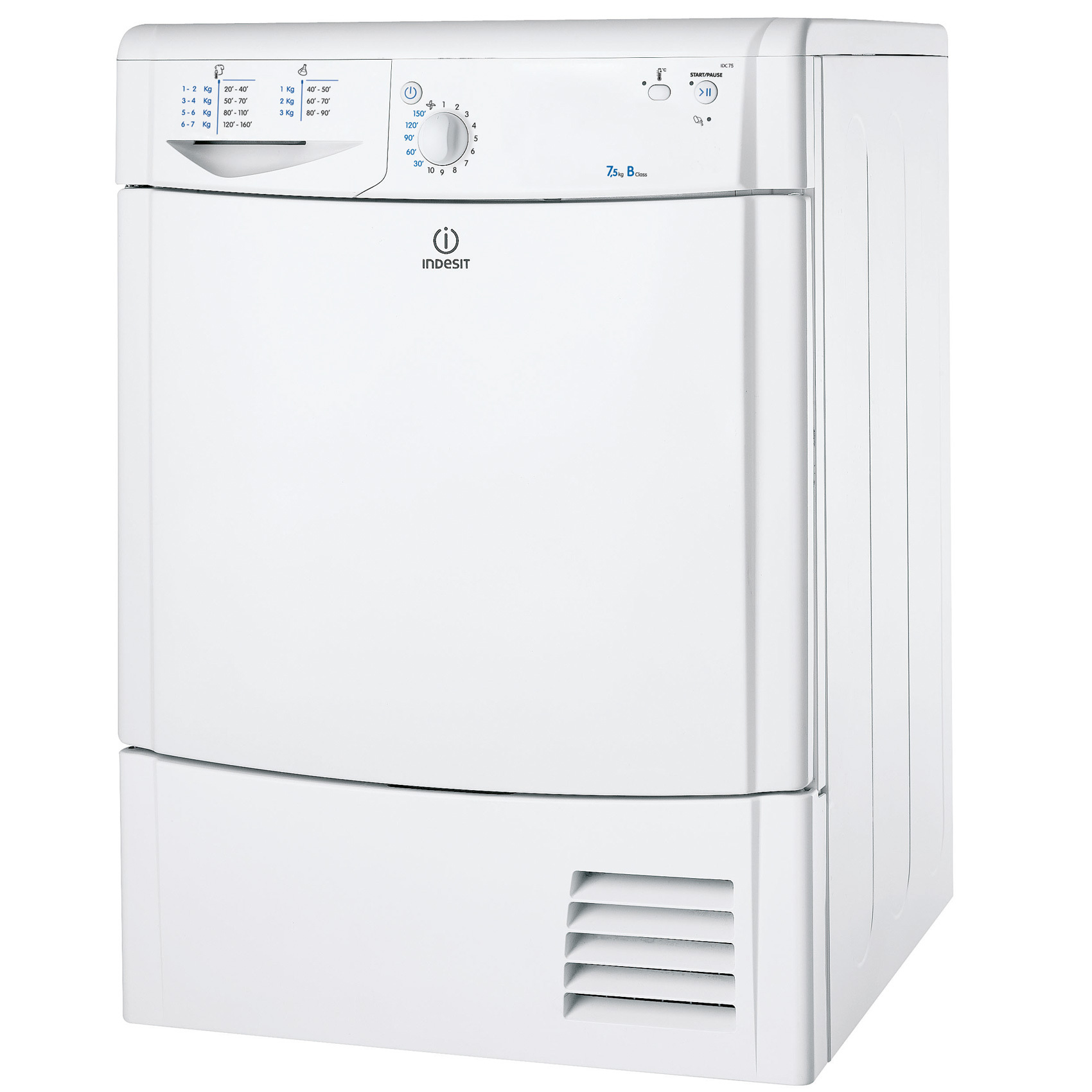 INDESIT DRYER IDC75UK 7KG