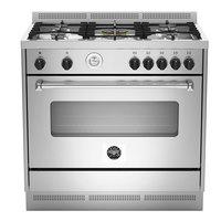 Bertazzoni 90X60 cm Gas Cooker & Electric Oven MAS905MFELXE
