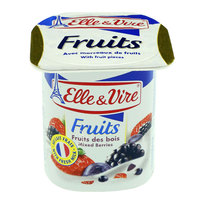 Elle & Vire Fruits Mixed Berries Yogurt 125g