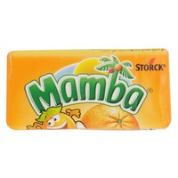 Storck Mamba Chewy Candies With Orange Flavour 26.5g x6