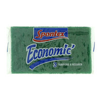 Spontex Economic Scouring Pads 3 Pieces