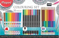 Maped Adult Coloring Pack 33Pcs