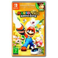 Nintendo Switch Mario+Rabbids Kingdom Battle Gold Edition