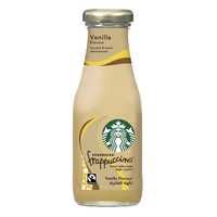 Starbucks Frappuccino Chilled Coffee Drink Vanilla Flavour 250ml