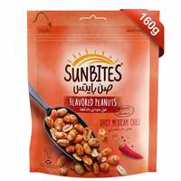 Sunbites Flavored Peanuts Spicy Mexican Chili 160g