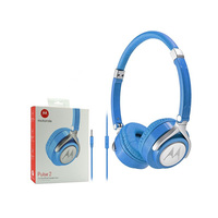 Motorola Headphones Pulse 2 Blue