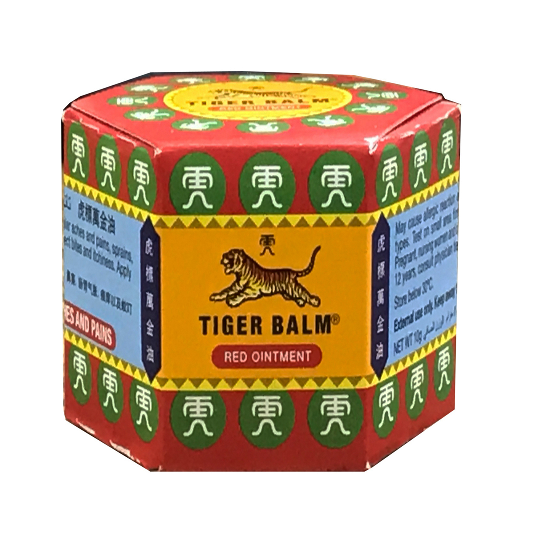 TIGER BALM RUB RED(M/S) 19.4GM