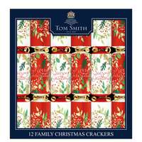"""Tom Smith  12X12"""" Traditional Family Crackers"""
