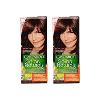Garnier Color Hair Light Mahogany Chestnut No.5.52 2 Pieces