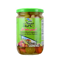 Albaraka Pickled Mixed Jars 650GR