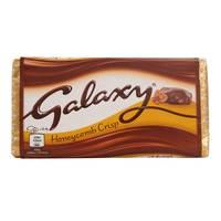 Galaxy Chocolate Bar Honeycomb Crisp 114g