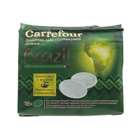 Carrefour Brazilian Arabica Coffee Pods 7g x18