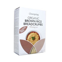 ClearSpring Organic Brown Rice Bread Crumbs Whole Grain 250GR