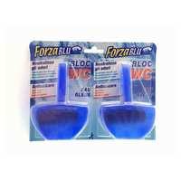 ريليفي فورزا قطعة مرحاض زرقاء 40 غرام حبتان