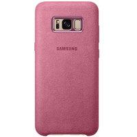 Samsung Case S8 Plus Alcantara Pink