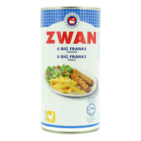 Zwan Chicken 6 Big Franks 560g