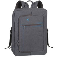 "RivaCase Topload/BackPack Convertible 7590 16"" Grey"