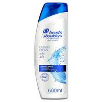Head & Shoulders Classic Clean Anti-Dandruff Shampoo 600ml