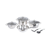 Prestige Stainless Steel Cookware Set 9 Pieces