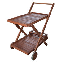 Turin Tea Trolley 69x51.5x75cm
