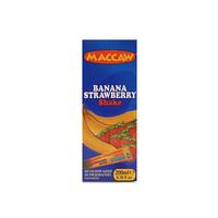 Maccaw Banana Strawberry Drink Slim 200ml