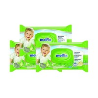 Molfix Wet Wipes 60 Sheets X 3