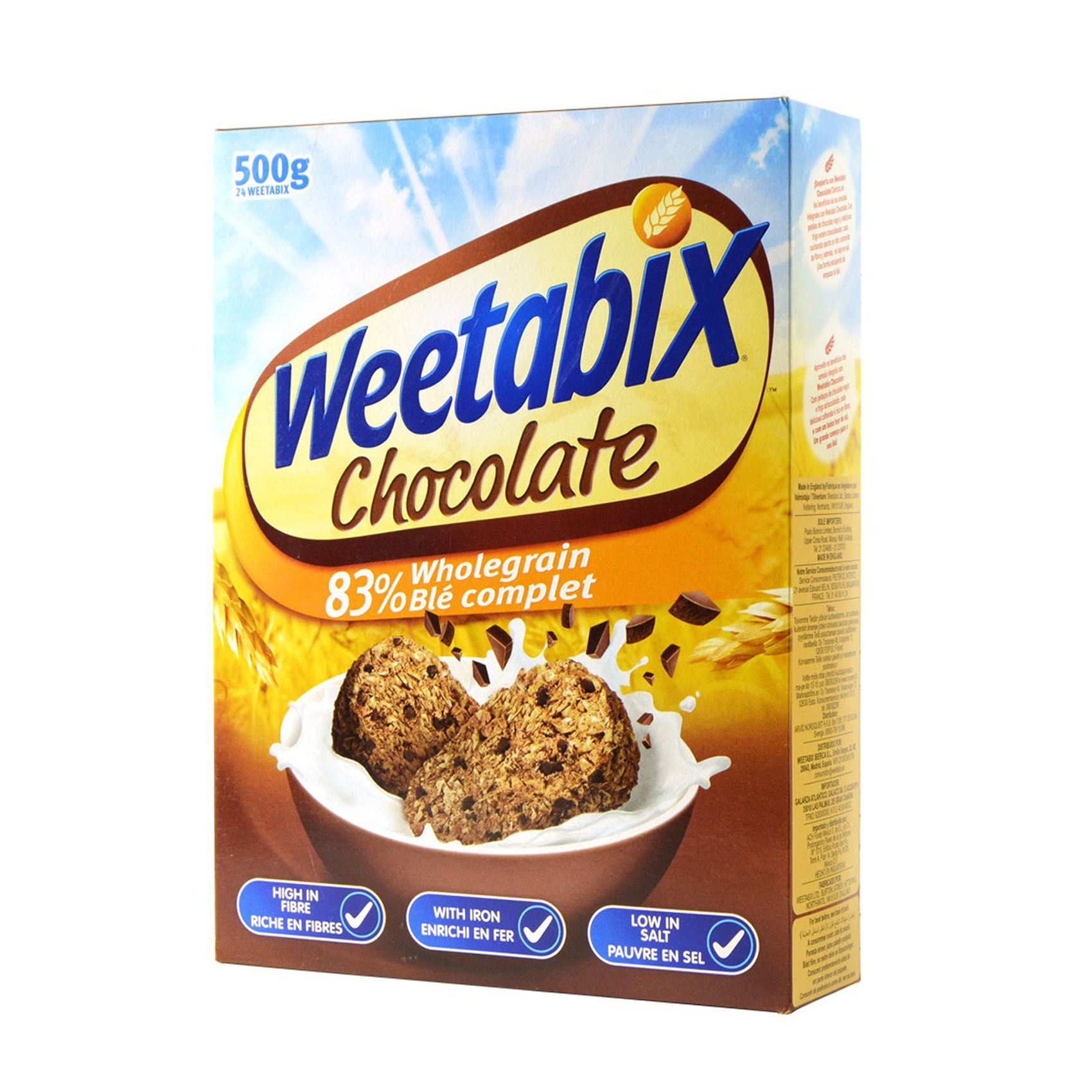 WEETABIX CHOCOLATE CEREAL 500GR