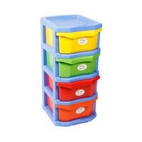 Top X Mini 4 Drawers Plastic
