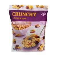 Carrefour Muesli Crunchy Fruit Doy 500 Gram