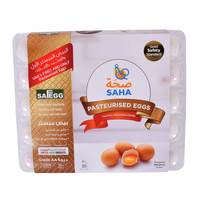 Saha Dubai Pasteurized Medium White Eggs x30