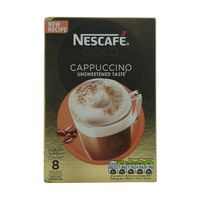 Nescafe Gold Cappuccino Unsweetened Taste 14.2g x8