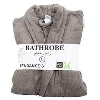 Tendance's Bathrobe Large Grey
