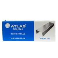 Atlas Staples 26/06 Pack 5000Pcs