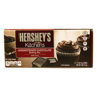 Hershey's Kitchens Unsweetened Chocolate Baking Bar 113g