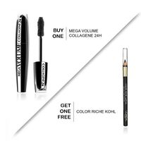 L'Oreal Paris - Eye Bundle - Mega Volume Collagene 24h + Color Riche Kohl