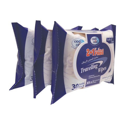 Cool-&-Cool-Travelling-Wipes-30's-2+1-Free