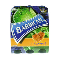 Barbican Pineapple Non Alcoholic Malt Beverage 330mlx6