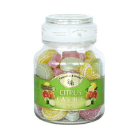 Cavendish & Harvey Citrus Candies Jar 300GR