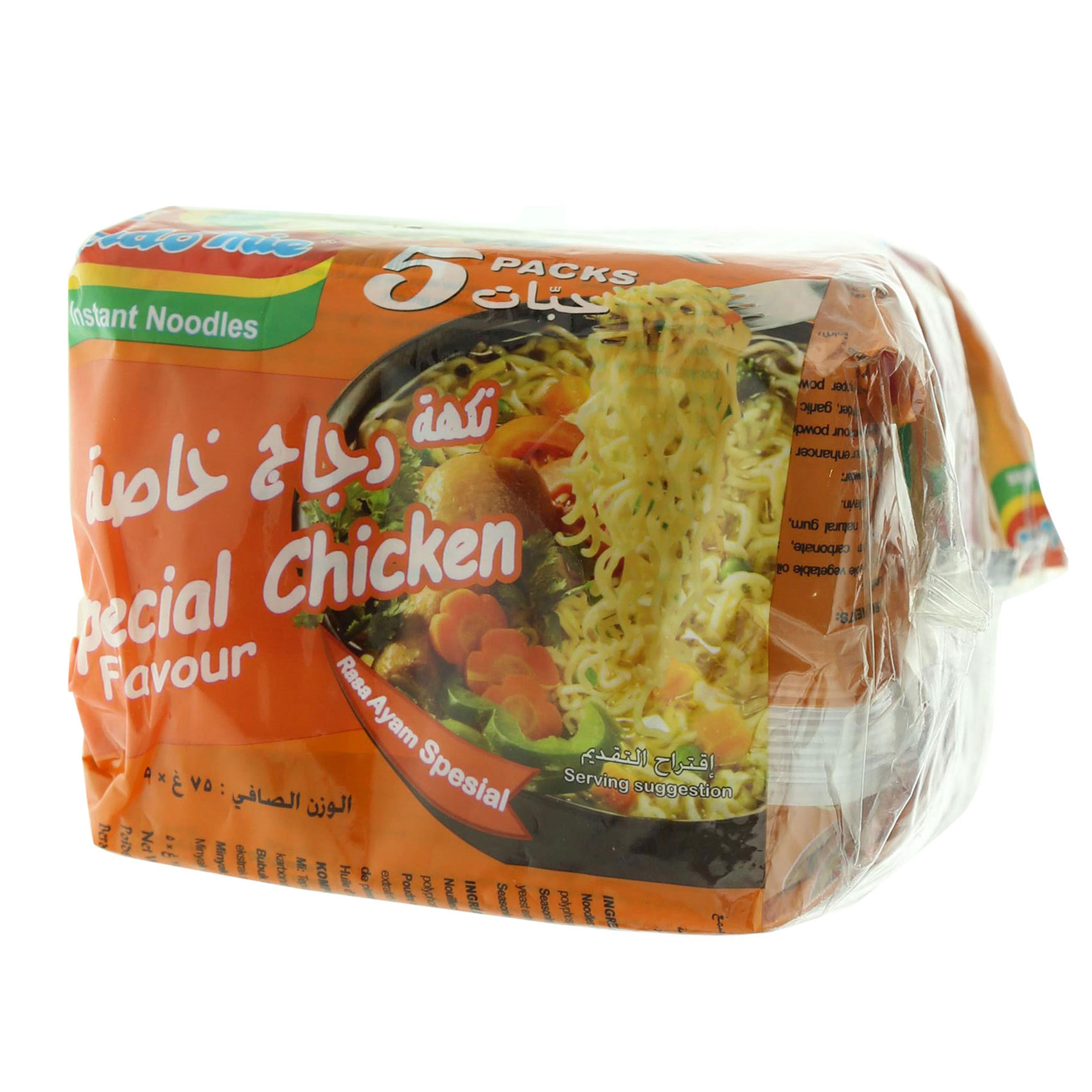 INDOMIE SPECIAL CHICKEN 75GRX5