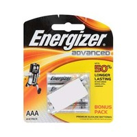 Energizer  Advanced Type AAA Alkaline 4+2 Free