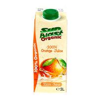 Sun Blast Organic Orange Juice 1L