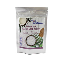 True Nature Organic Coconut Chips Spicy Onion 40GR