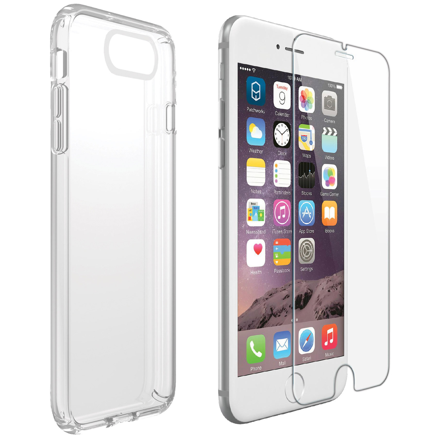 X.CELL CASE IPHN7P+TEMPERED GLASS