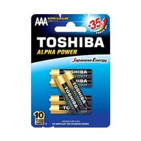 Toshiba Alpha Power Type AAA Alkaline 4+2 Free