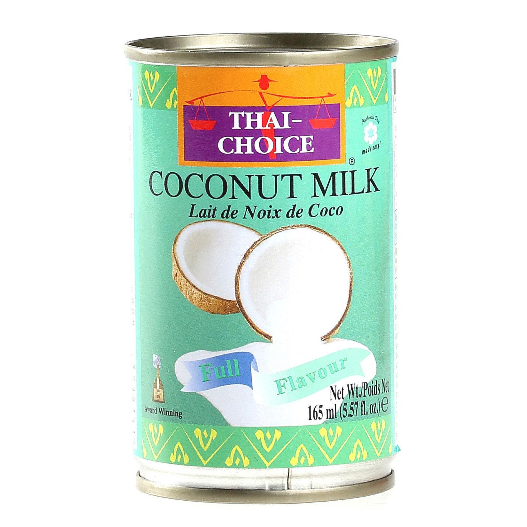 Buy Thai Chocie Coconut Milk 165ml Online in UAE - Carrefour UAE