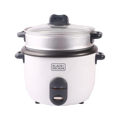 bfaaa6851bb Buy BLACK amp DECKER Rice Cooker RC1860-B5 1.8 Liter White Online ...