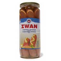 Zwan 8 Hotdog Chicken Sausages 720g